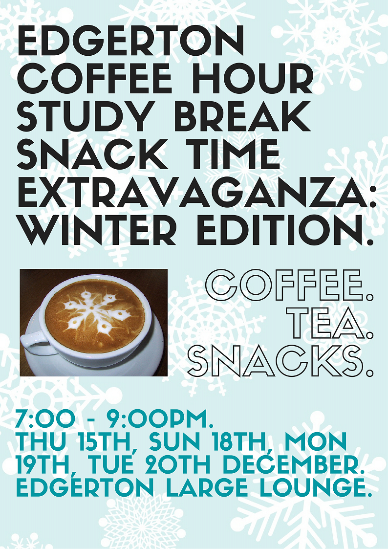 Winter study breaks small